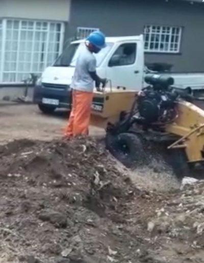 stump chipping fourways sandton